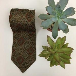 Pierre Balmain Paisley Italian Silk Tie
